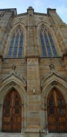 Gothic Church Front - Stock by matrix7