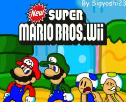 New Super Mario Bros. Wii by Sigyoshi23