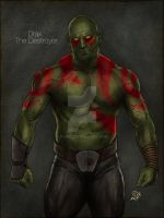 Drax the Destroyer by PCRK