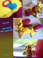 ordered Pony plush by mirry92