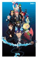 Ao No Exorcist by Jackce-Art