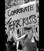 Stop-G20: Corporate Terrorist by MD81