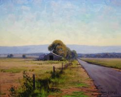 Road To The Farm - Richmond by artsaus