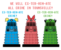The Dalek-Puff Girls by Death-Driver-5000