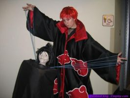 Sasori cosplay by StarDustShadow