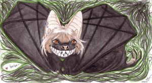 Cheshire Bat by ashkey