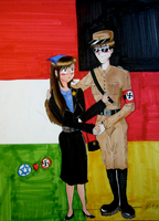 Nazi and Jew Love by AnnaKlava