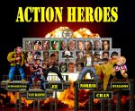 Action Heroes Character Select Screen by Gery850