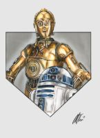 #18 - C3PO and R2D2 by MollyThomas