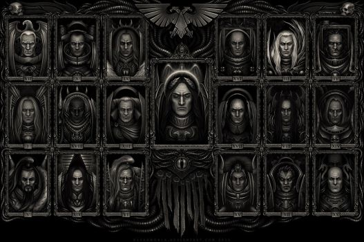 THE ICONOSTASIS by d1sarmon1a