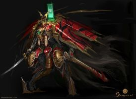 Samurai - Mechanical Samurai Nobunaga Unit by emersontung