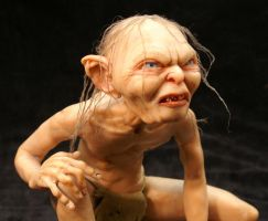 'Gollum' close up 2 by mellisea