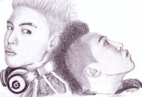 TOP and GD by xAkuReix