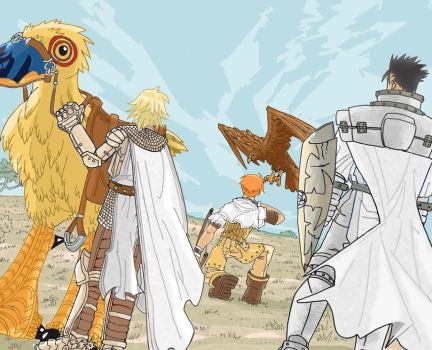 The Knights of Zenobia by 1gnis