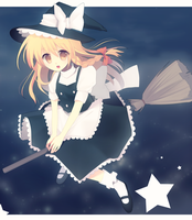 High flying Marisa by longestdistance