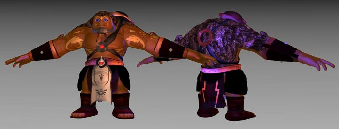 Goron Warrior 3D model by AdoubleA