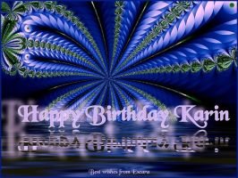 HAPPY BIRTHDAY KARIN 2011 by Escara40