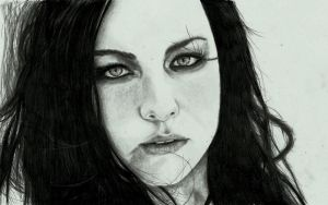 Evanescence-Amy lee by zakValkyrie