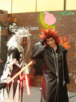 Xemnas and Axel by AnimeOCD1323