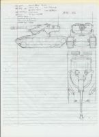 Proposal- AMX 50C by Enigmaticmuffin