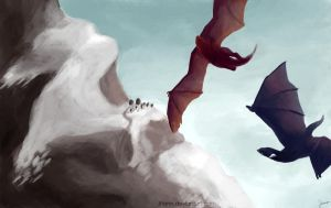 Dragons by Jhann