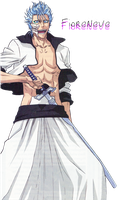 Grimmjow Render by FioreNeve