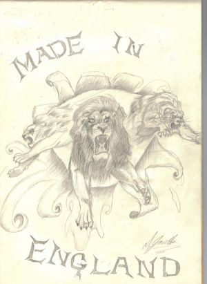 MY TATTOO design 2 days and its