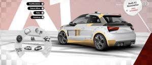 Customized Audi A1 Customizer by grote-design