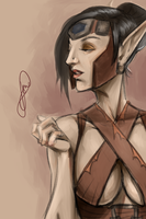 My Blood Elf Rogue, Jaecyn by TheJarett
