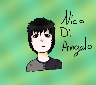 Nico Di Angelo by GrislingLover
