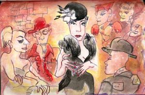 Dita von Teese by jasonatomic