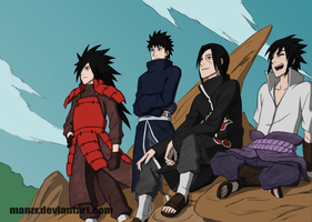 'Because We're Uchiha!' by TheQZ