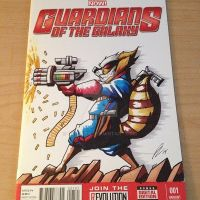 Guardians of the Galaxy Sketch Cover by GIG-Arts
