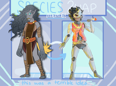 Cloar and Kurtz Species Swap by Kavross