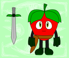 Shawn the Strawberry by NazFro24-2