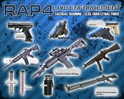 Law Enforcement Flier by RealActionPaintball