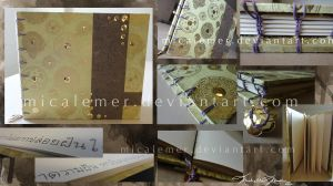 Thai Gold Sketchbook by micalemer
