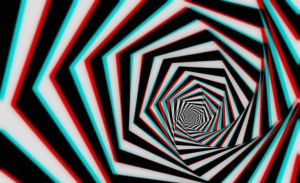 Hypnotic Tunnel 3-D by MVRamsey