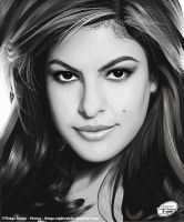 Eva Mendes by Thiago-NightCrawler