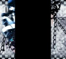 Black Rock Shooter youtube 3.0 by XxClaireStrifexX