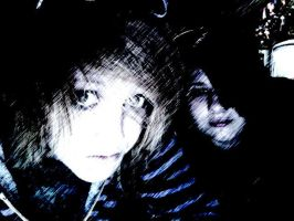 Ella and I again.. xP by NeonDance123