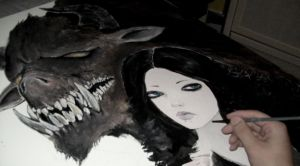 Beauty and the Beast - Work in progress. by Giurio