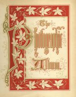 Vin decorative border page by rustymermaid-stock