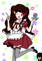 PC: Sachi be a Maid! (and with Haruto!) by sakura341
