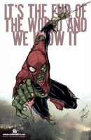 Spiderman Zombie by mdavidct