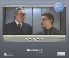Quicktime 7 skin for KMPlayer by alabanco