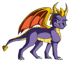 Spyro by Midnightflaze