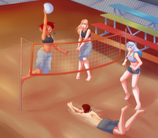 Comm: Volleyball by Miss-Sheepy