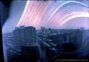 Solargraphy -One Year exposure by elultimodeseo