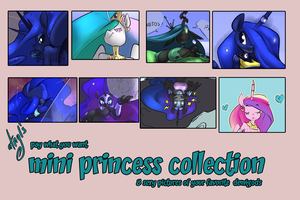 mini princess collection - pay what you want by atryl